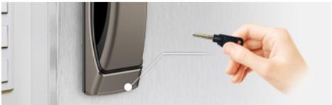 Chìa cơ khóa điện tử Hafele EL9500