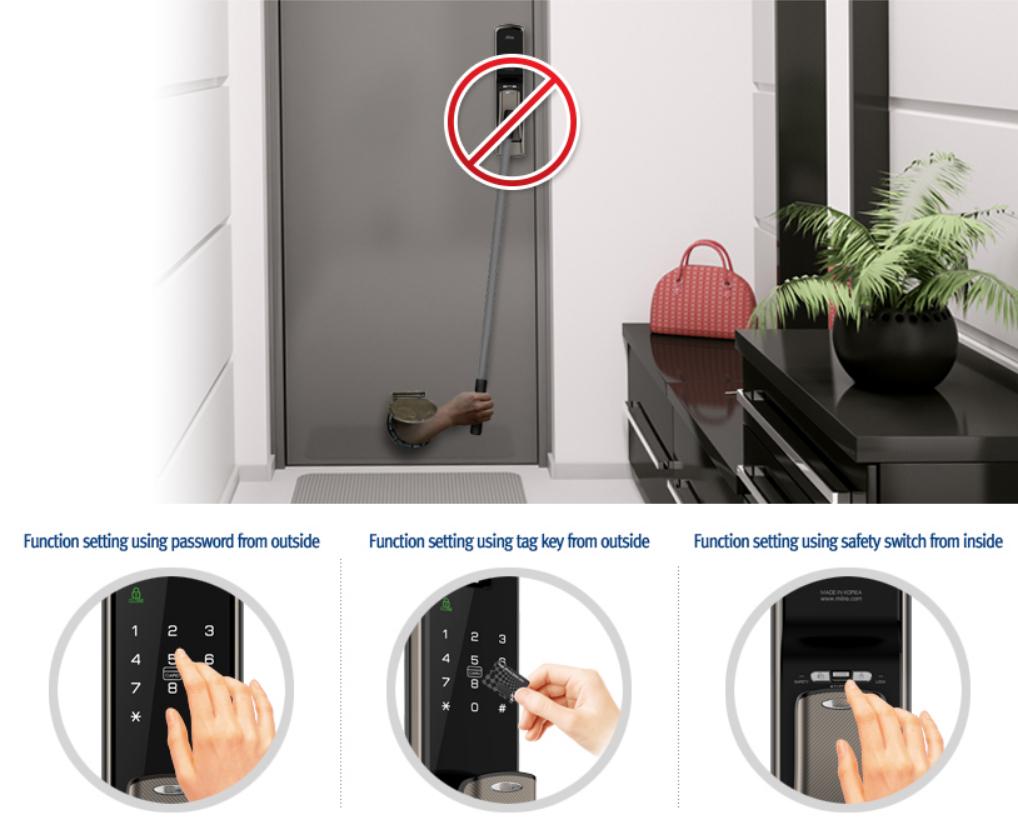 safety Handle khóa điện tử hafele EL9500 - TCS 912.05.353