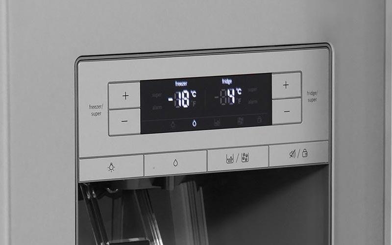 Tủ lạnh Bosch KAD92SB30 ice dispenser