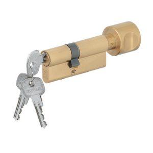 Ruột khóa phòng ngủ hafele màu vàng 916.96.328