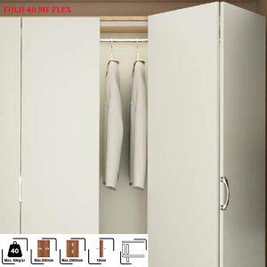 cửa trượt xếp tủ áo Hafele FOLD 40MF FLEX 409.61.000