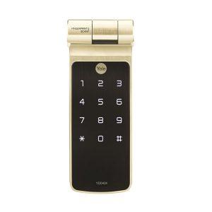 khóa điện tử Yale YDD424+ Gold