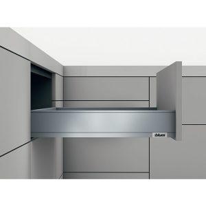Ray hộp Blum legrabox 550.72.585 màu xám
