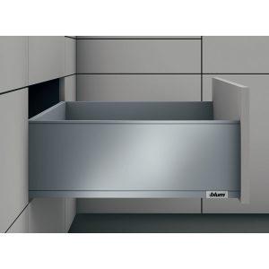 Ray hộp Blum legrabox 550.73.565 màu xám chiều cao C