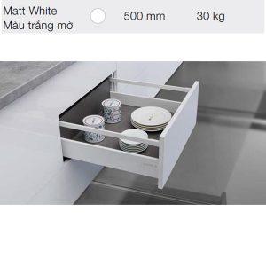 Ray hộp Hafele Alto S 552.55.706 màu trắng
