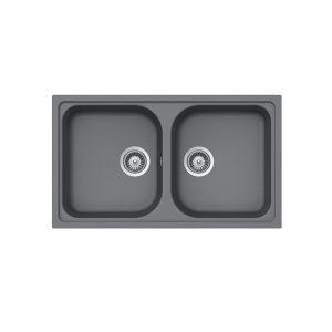 chậu đá Hafele JHS19-GEN2R90 570.35.580 màu xám
