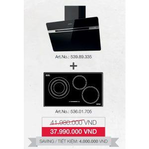 gói ưu đãi bếp + hút mùi 536.01.709