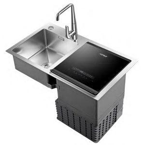 Máy rửachén kết hợp bồn rửa Hafele HDW-SD90A 539.20.530