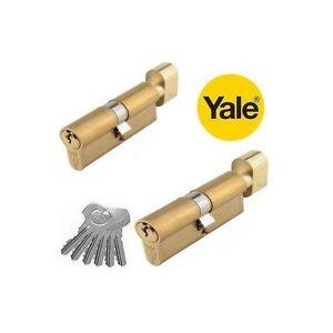 Ruột khóa một đầu chìa Yale