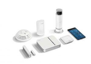 bộ bảo vệ nâng cao Bosch Premium security Starter kit indoor camera