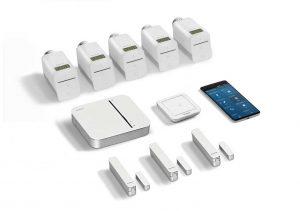 bộ điều nhiệt nâng cao Bosch premium room climate starter kit