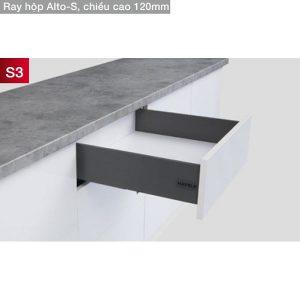 ray hộp Hafele Alto-S H120 S3