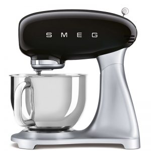 máy trộn đa năng Smeg SMF02BLEU màu đen dòng 50's Style 535.43.600
