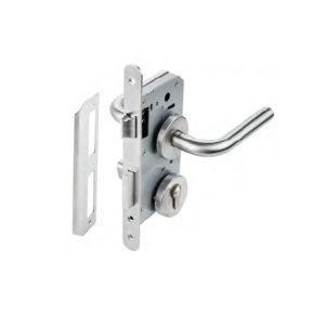 bộ khóa cửa vệ sinh hafele DIY 489.10.661 kiểu chữ G1