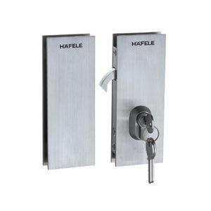 Thân khóa cửa kính Hafele 981.59.050