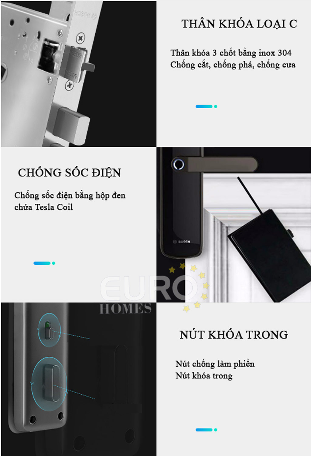 Khóa thông minh Bosch ID60