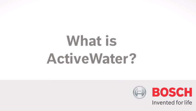 Bosch Avtive water technology