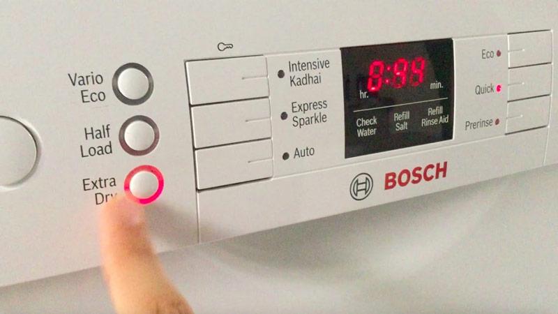 Máy rửa bát Bosch Extra Drying SMS46KI01E