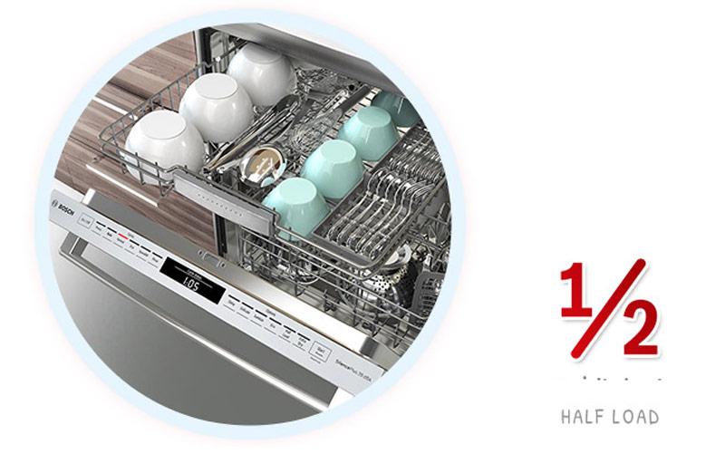 Máy rửa bát Bosch Half load SMS6EDI06E