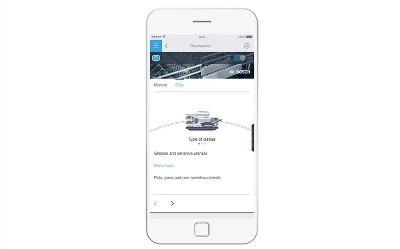 Bosch Dishwasher SMS6ZCI49E Easy Start