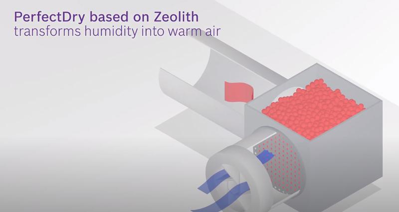 Máy rửa bát Bosch zeolith technology