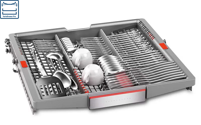 Máy rửa bát Bosch khay VaripDrawer Pro
