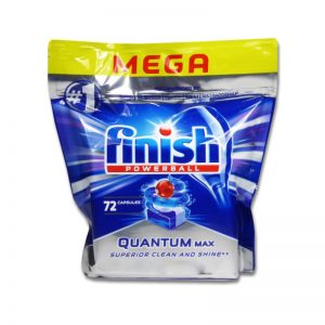 túi viên rửa finish Quantum max 72 viên