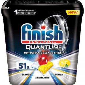 Viên rửa bát finish Quantum Ultimate 51 viên