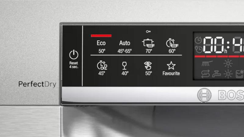 Máy rửa bát Bosch SMD6ECX57E Favourite Programme