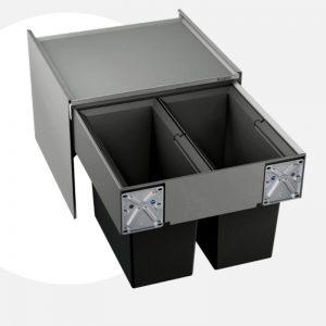 thùng rác blanco select 50/2 organ 518722