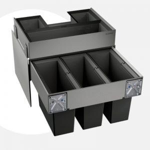 thùng rác Blanco Select 60/3 Organ 518726