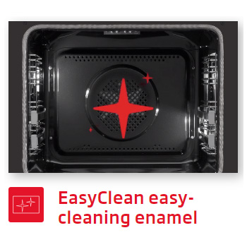 Lò nướng Fagor 8H-185BX A Easy cleaning Enamel