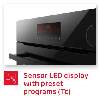 Lò nướng Fagor sensor Led display