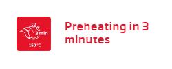 Lò nướng Fagor 8H-185BX A Preheating